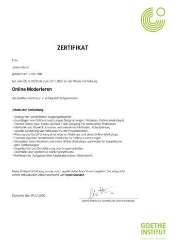 Zertifikatxxx
